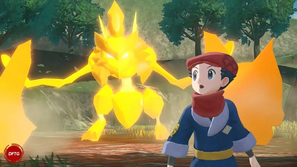 Pokemon Legends Arceus Trailer