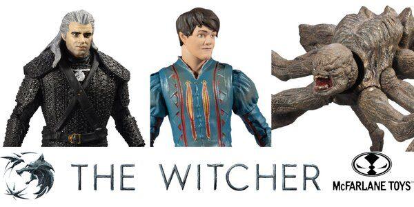 Witcher Netflix figures