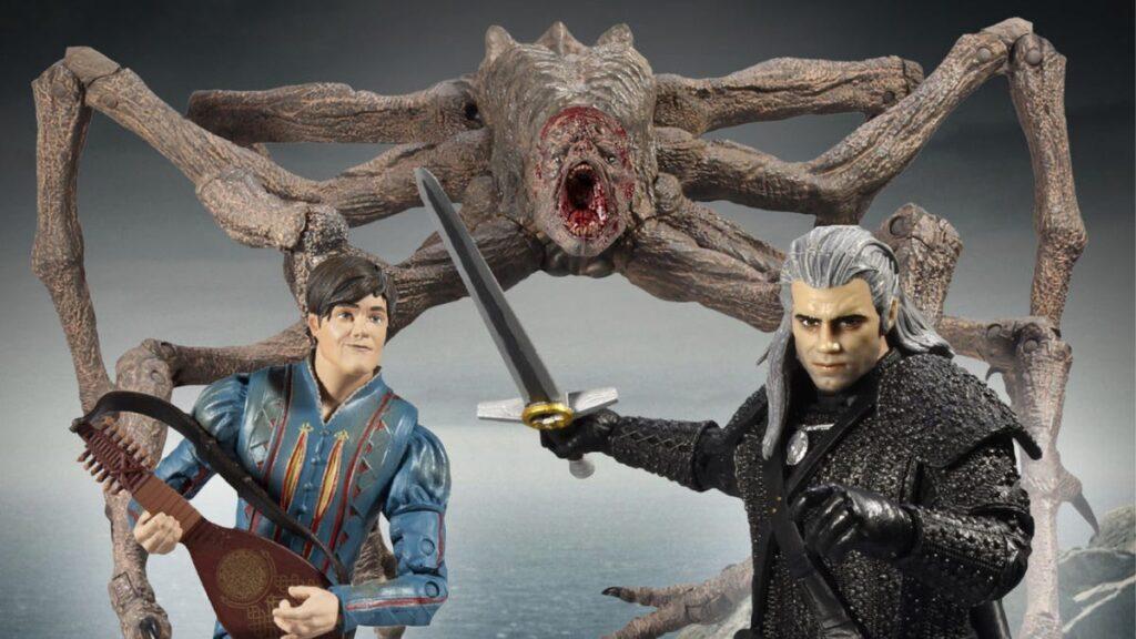 Witcher Netflix figures McFarlane Toys