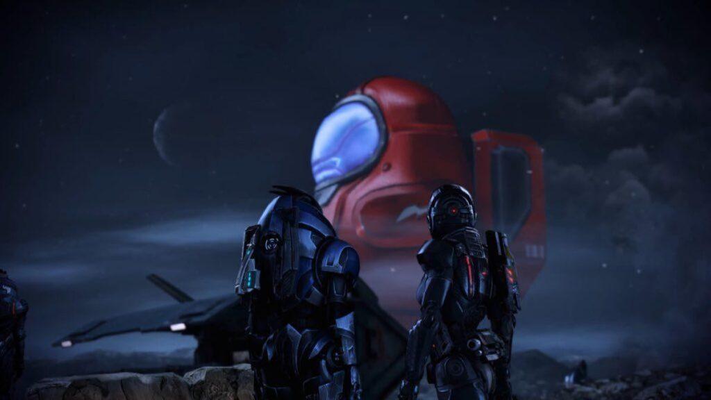 Mass Effect Among Us