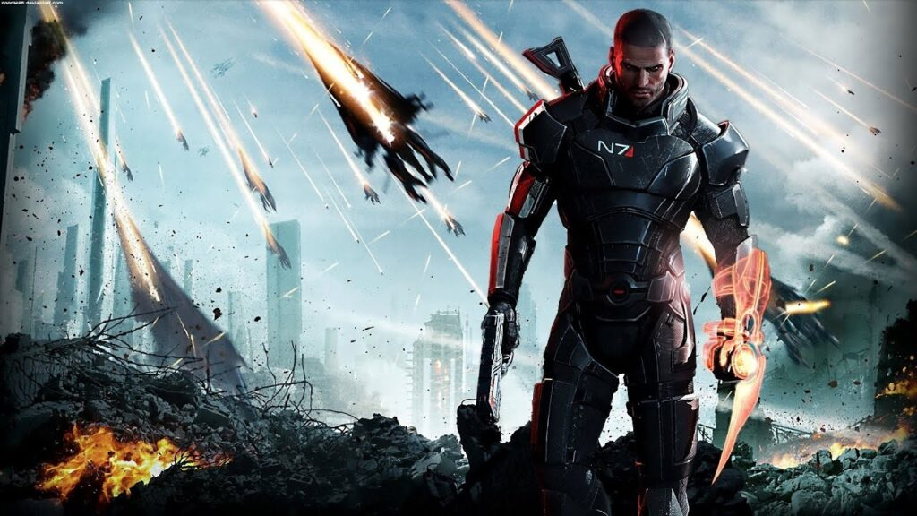 Mass Effect 3 Ending Originally Included The 'Reaper Queen'