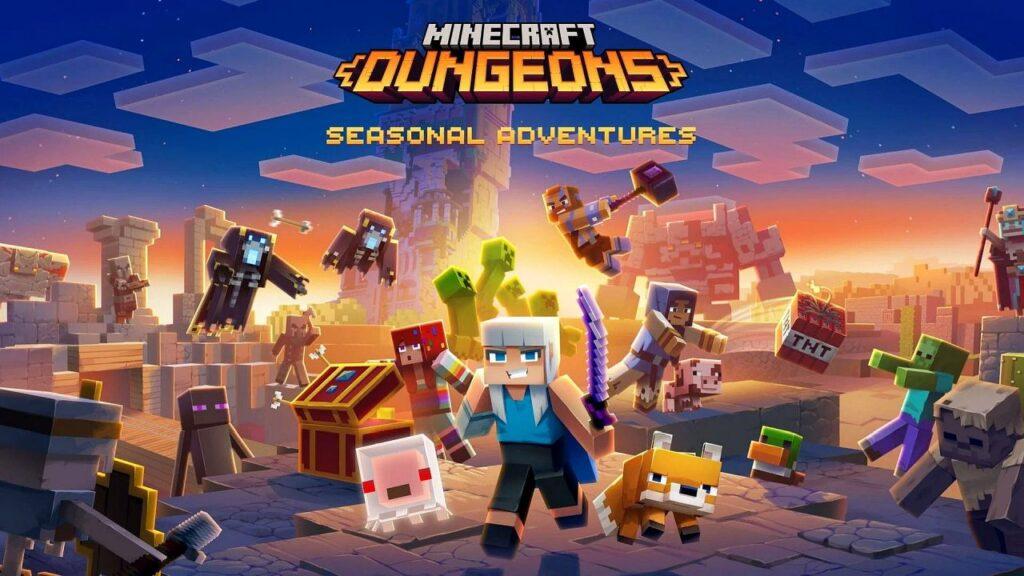Minecraft Dungeons Seasonal Adventures