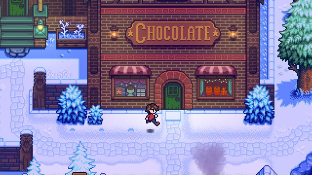 Stardew Valley Haunted Chocolatie