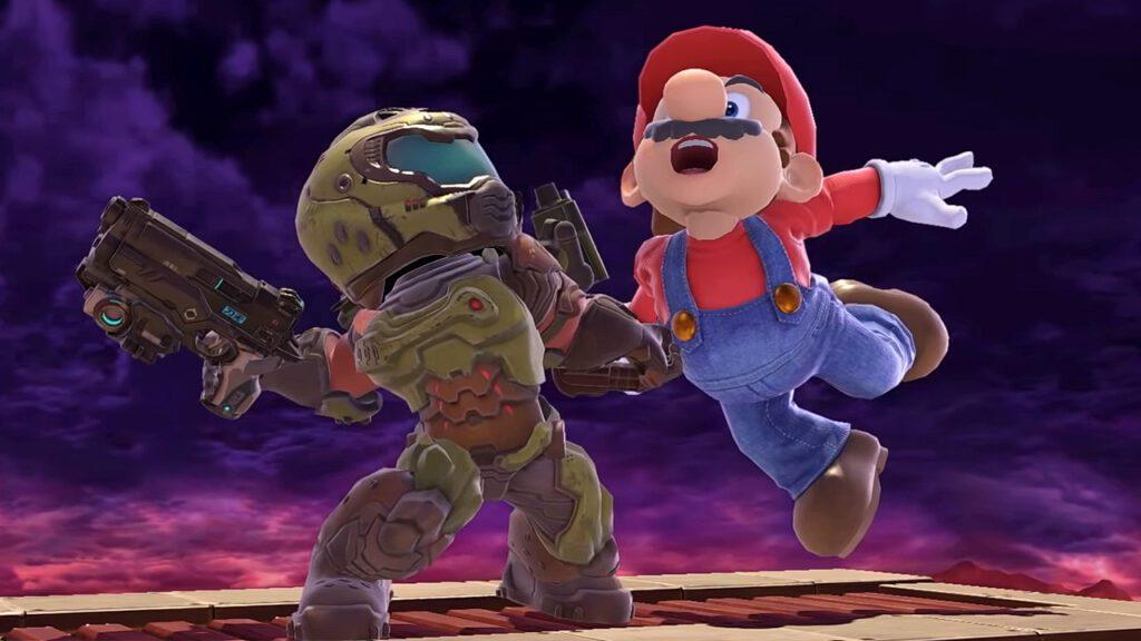 Super Smash Bros. Ultimate Doom Slayer Doomguy