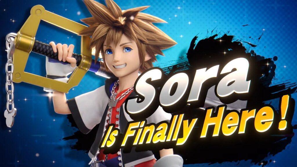 Kingdom Hearts Sora Super Smash Bros. Ultimate