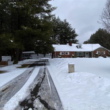 H19 - Well maintained 1960's home sits on 6 glorious cleared acres.
