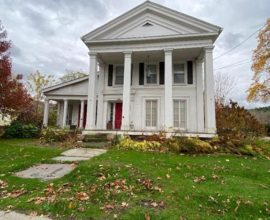 H6 - Lovely Greek Revival village home sits just a stone's throw from the Delaware River!