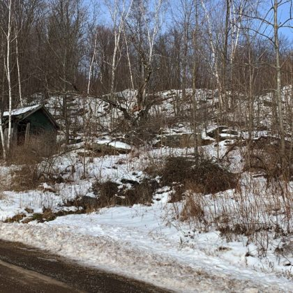 Excellent hunting land with wonderful vistas!