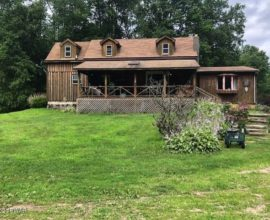 H68 - Amazing spot on the east branch of the Delaware River. House is out of flood plain.