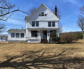 H11 - Victorian farmhouse with covered, front porch. Just over 188 acres on both sides of Co Hwy 13 w/plenty of road frontage and stunning views!