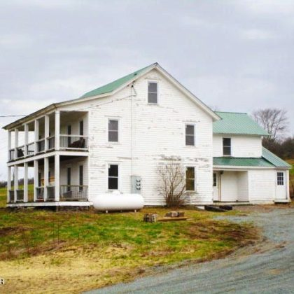 H23 - Original Family 80+/- Acre Farm with Wooden Colonial 3-story farmhouse. 5+ bedrooms, 2 baths, 3 stories
