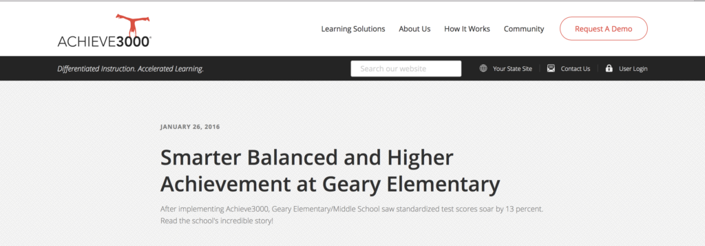 Geary Elementary Case Study