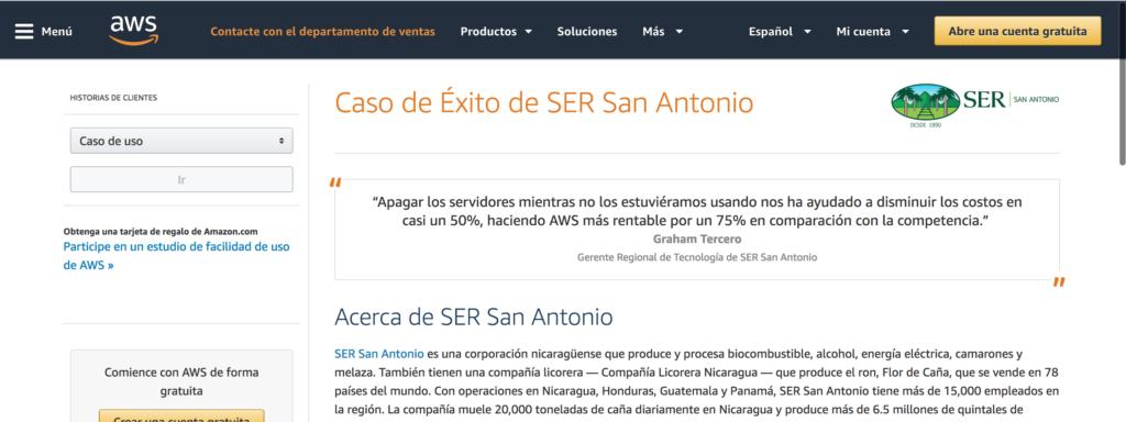 SER San Antonio case study