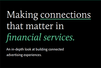 Advertising and Financial Services