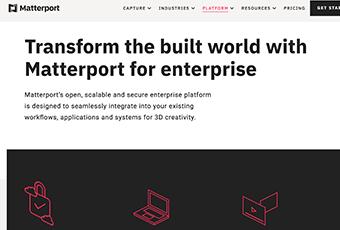 Matterport Web Copy
