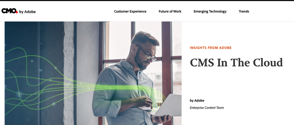 Adobe CMS cloud