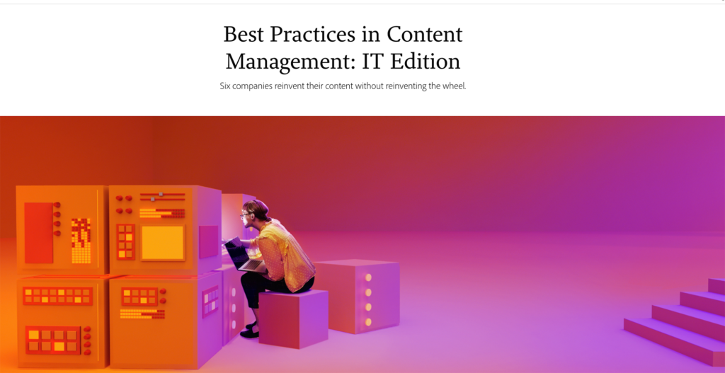 IT best practices in content management