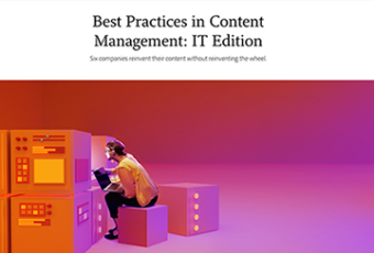 Best Practices in Content Management: IT Edition