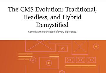 CMS headless hybrid