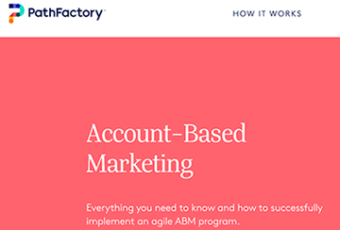 PathFactory – SEO Copy
