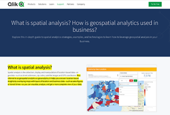 Qlik – Spatial Analysis SEO Copy