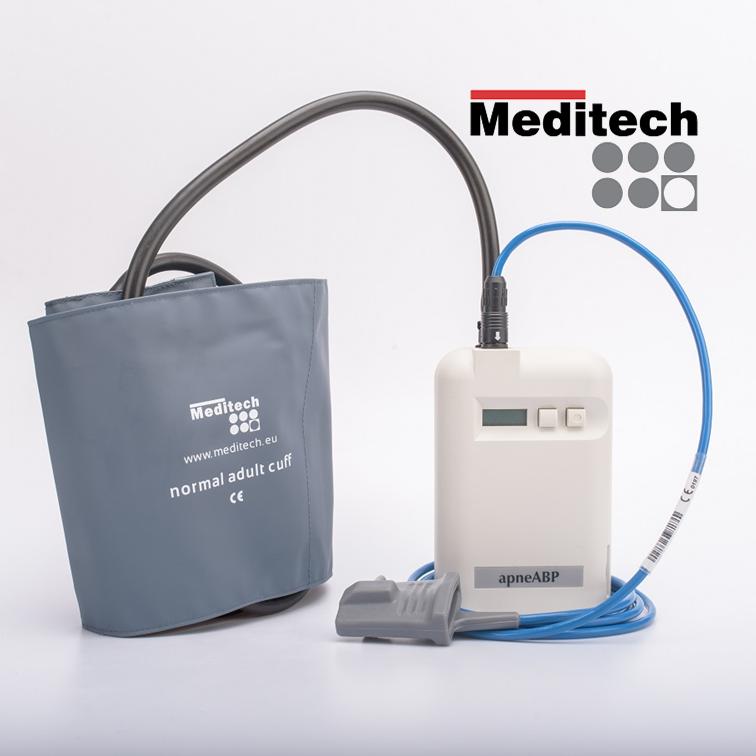 Multifunctional ambulatory blood pressure monitor with SpO2 & activity monitor ApneABP