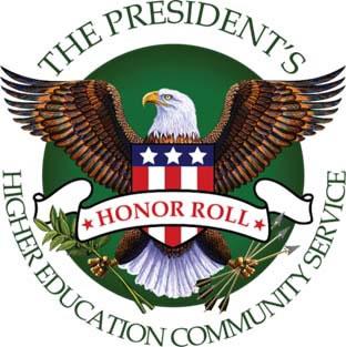 2013 President's Higher Education Honor Roll