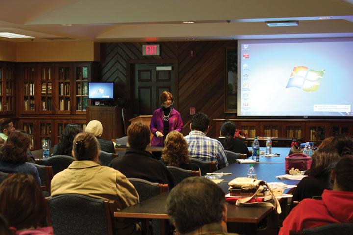 San Antonio's Poet Laureate speaks at UIW