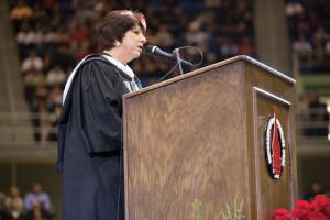 2013 Alumna of Distinction for service in Mission Veronica Vela Whitacre '81 BA