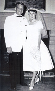 Ronald Spana and Caroline Schoch married in San Antonio in 1960.