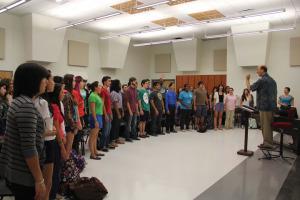 Cardinal Chorale Rehearsal Hall 1