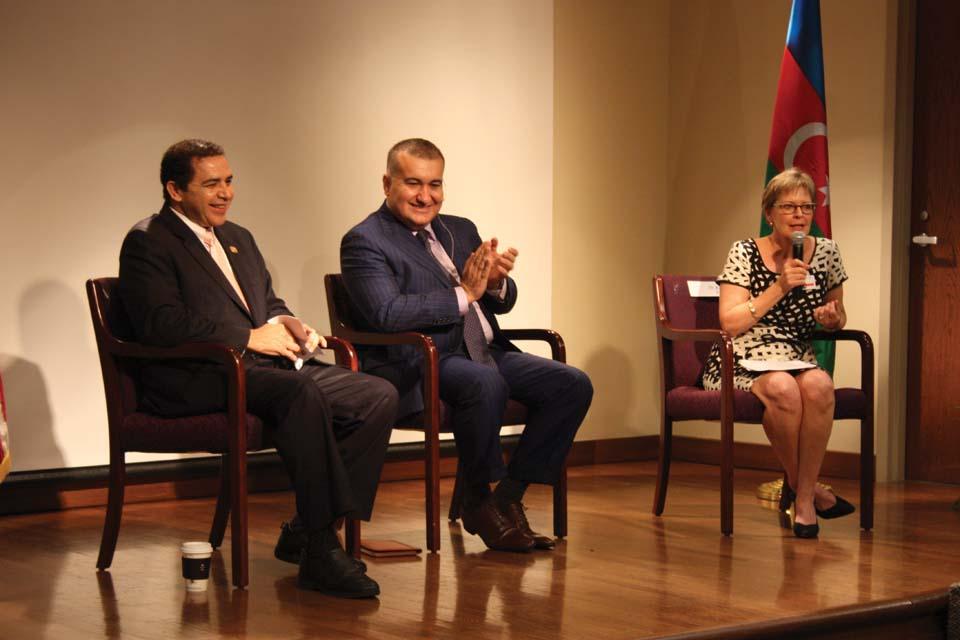 Azerbaijan Ambassador and Congressman Henry Cuellar visit UIW community