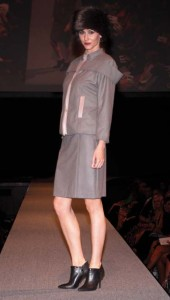 A design by Veasna, who took top prize, at Cutting Edge, presented in memory of Kathleen Watson.