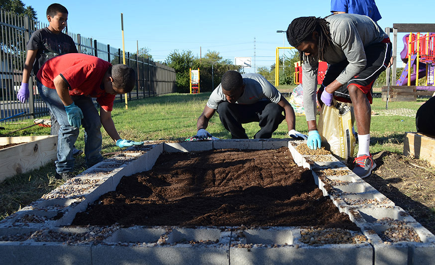 Gardening Initiatives Cultivate Community Education and Climate Leadership Award