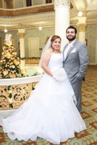 Mercedes Moreno and Paul Villanueva Jr.