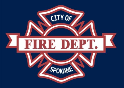 City of Spokane Fire Dept. | Screen Printing