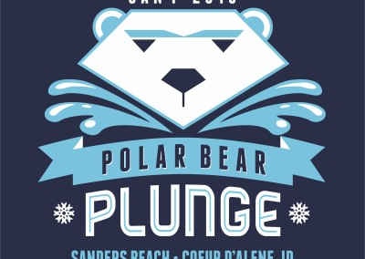 Polar Bear Plunge | Screen Printing