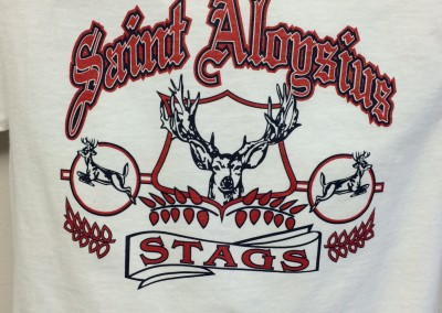 Saint Alogsius Stags | Screen Printing