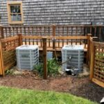 outdoor heating and cooling systems