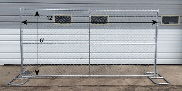 Chain Link Fence Sections