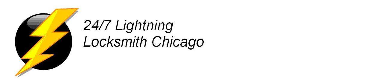 24/7 Lightning Locksmith Chicago IL Logo