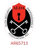 Registered Associated Locksmiths of America Security Professionals Association Inc.