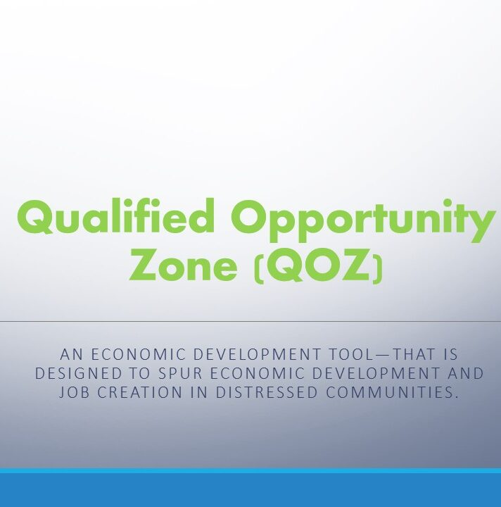 Qualified Opportunity Zone – IRS Designation