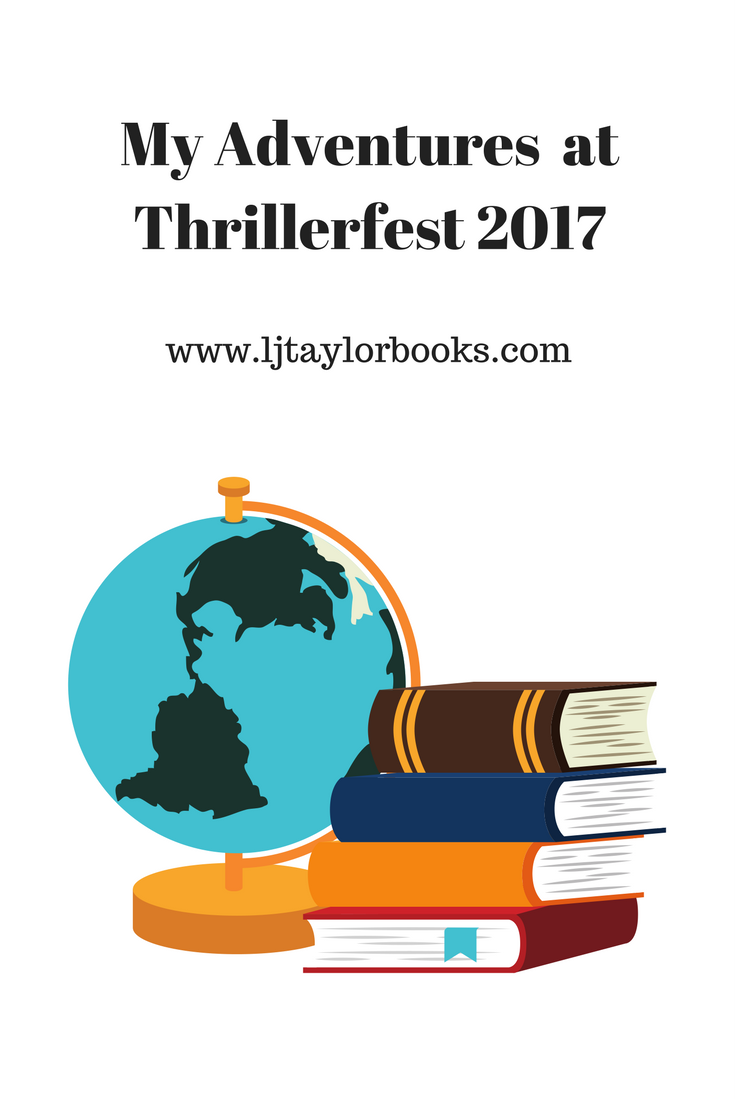 My Adventures at Thrillerfest 2017