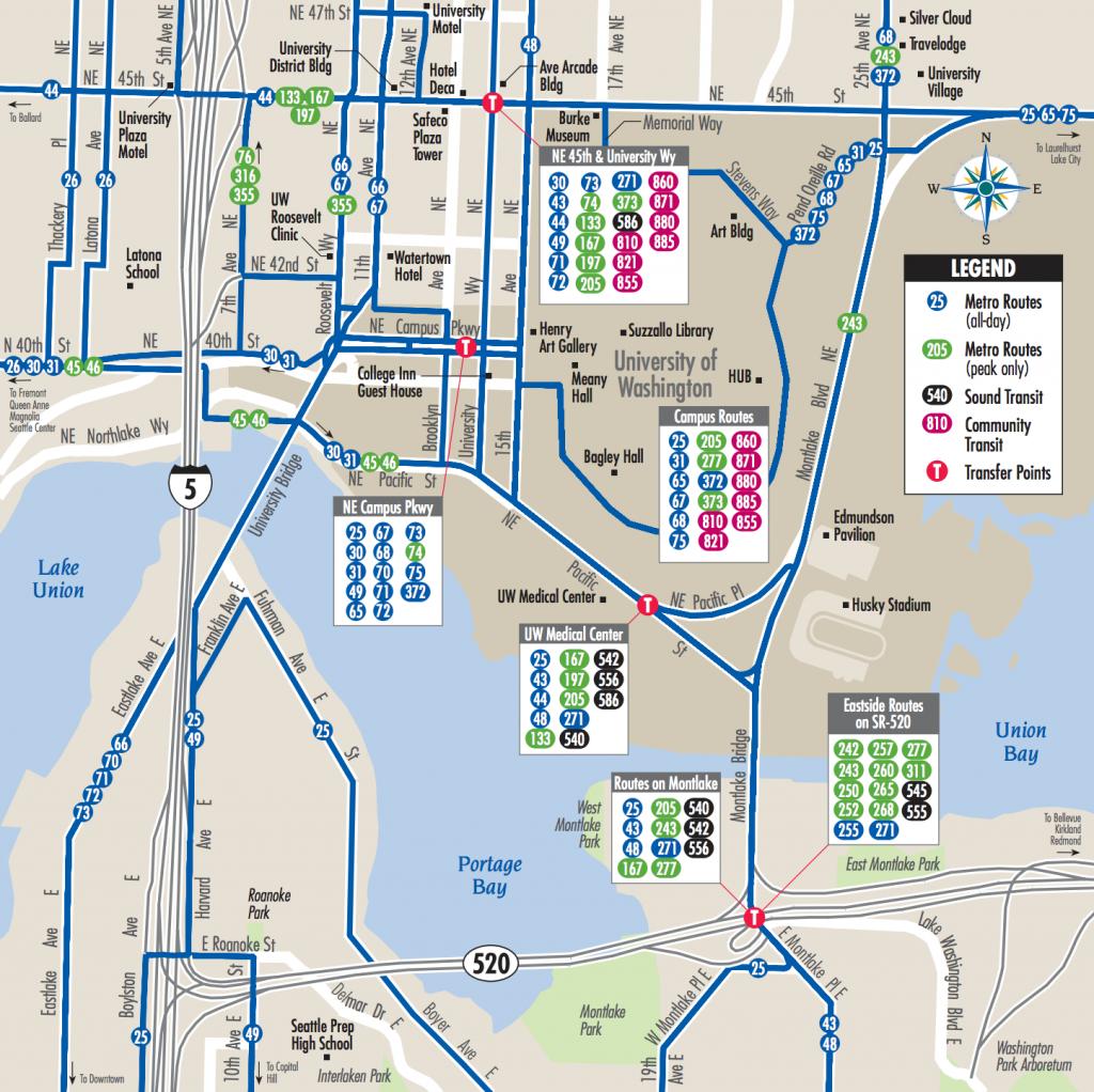 Metro Bus Map