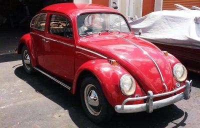 vw beetle 1964 restoration after west palm beach fl