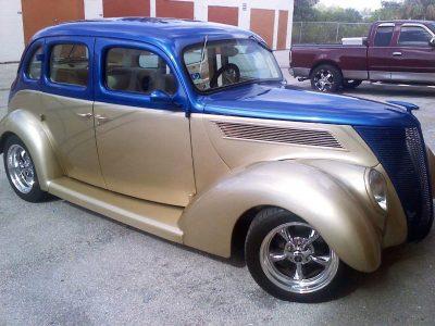 restored car russell auto restorations
