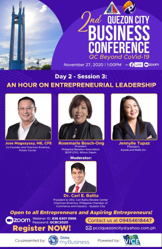 quezon city 2nd business conference