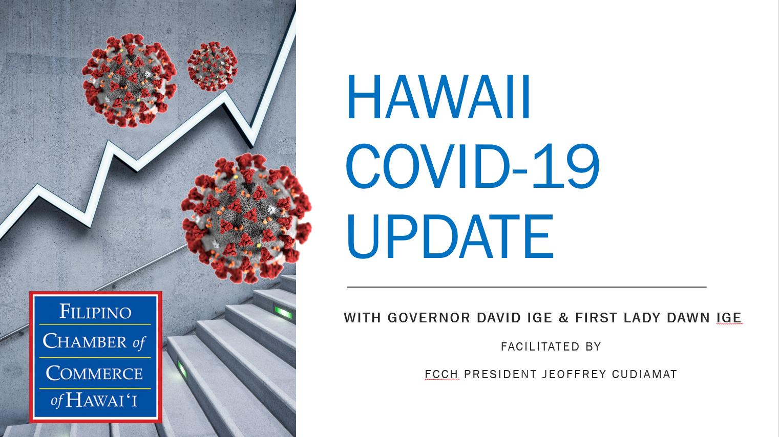 Hawaii Covid Update Cover