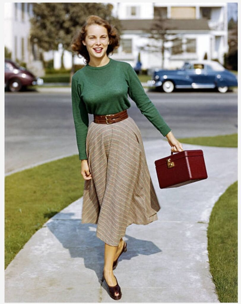 I see a lot of Jamie Lee Curtis in this picture of her Mother Janet Leigh